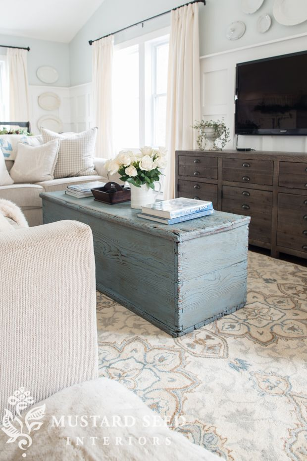 When I shared the industrial-style coffee table a few months ago, some of you called it. It just didn't workwith my style. While I like the table a lot and it was very functional, it was too large for the space and the longer I lived with it, the more it felt off with everything else in the room. Great ... Read More
