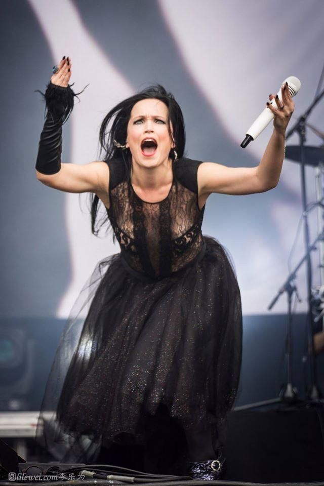 Tarja Turunen live at Hellfest Open Air 2016 #tarja #tarjaturunen #hellfest PH: Mirage Music 魅魊音樂 https://www.facebook.com/MirageMusic/?fref=photo