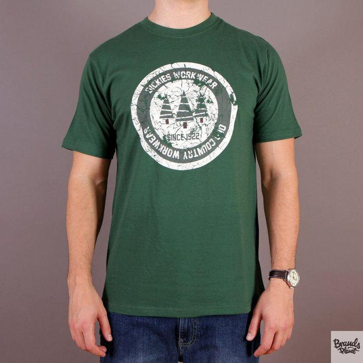 Zielona koszulka męska Dickies T-shirt Allendale Bottle Green - kolekcja Fall/Winter 2014 / www.brandsplanet.pl / #dickies streetwear
