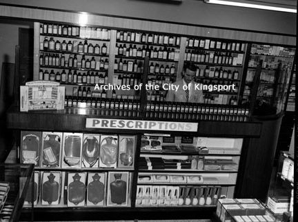 Cole's Drug Store, 1953