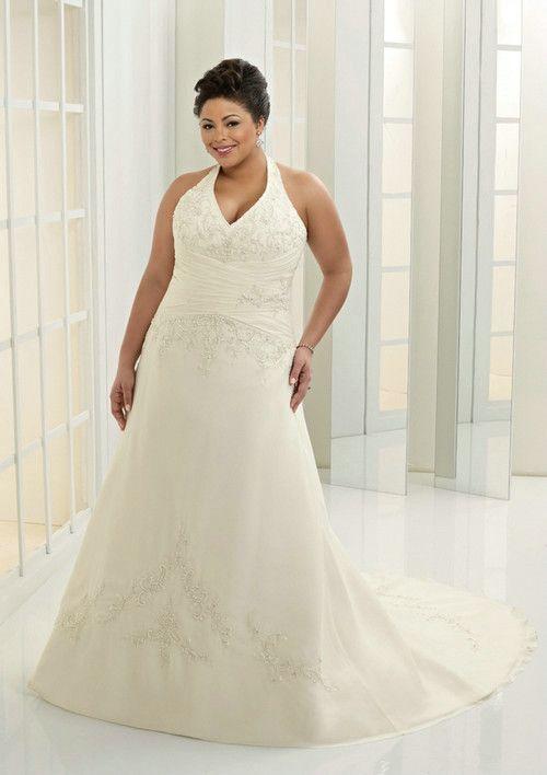 69 best Voluptuous, Plus size Bridal Gowns images on Pinterest ...