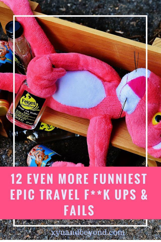 12 Even funnier stories of travel f**k ups #travel #travelfuckups #travelfails #worldtravels #Ireland #england #malaysia #siberia #travelbloggers