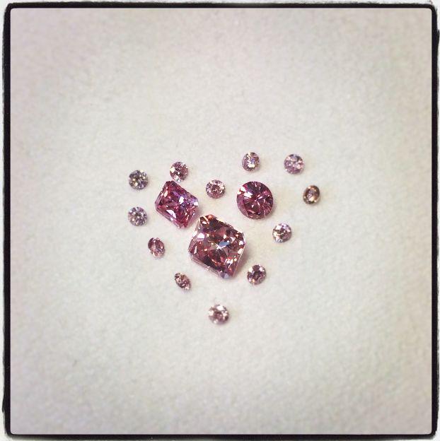 Valentine's specials (Argyle Pink Diamonds)