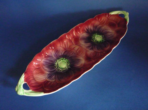 Shorter & Son 'Anemone' Cucumber Dish c1935