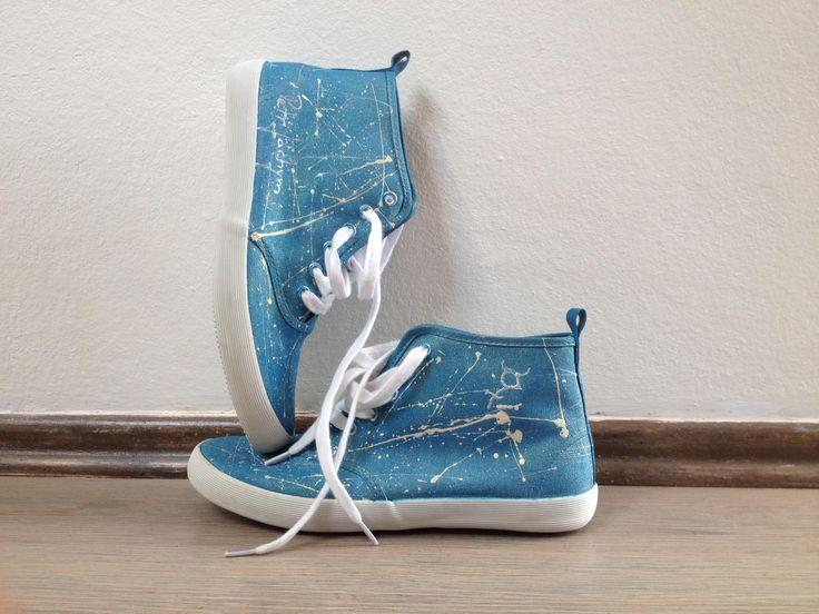 Blauie sneakers - Merkurio by Petr Jáchym www.petrjachym.cz