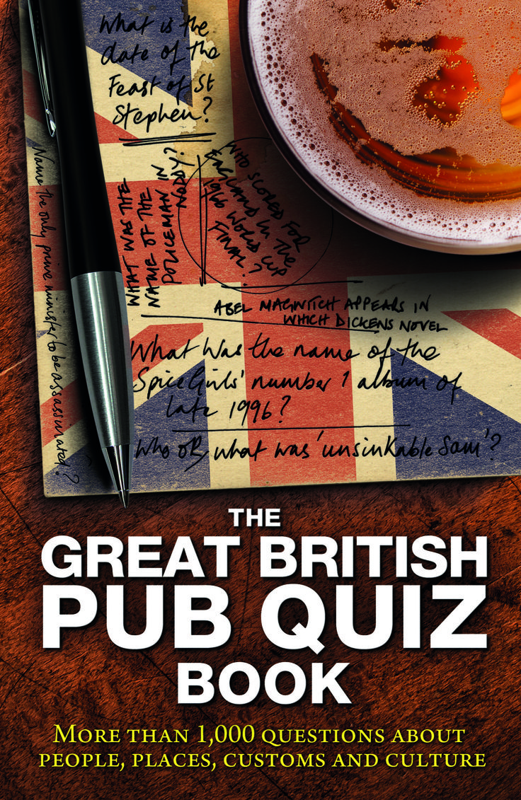 Carlton books the great british pub quiz book