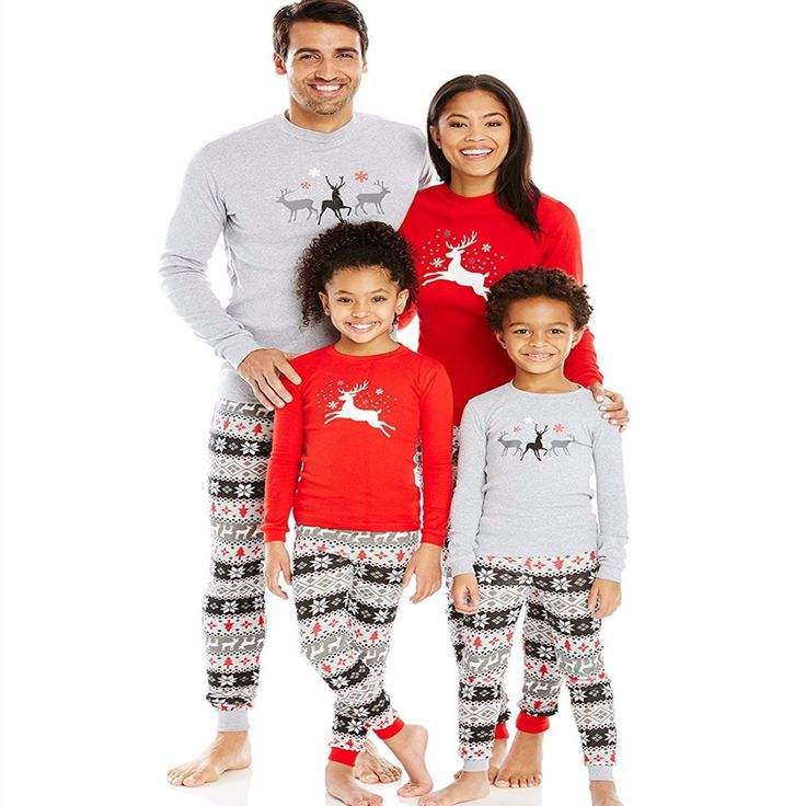 Xmas Deer Family Set Christmas Matching Pajamas Sets Christmas Family Pajamas Family Clothing Sets Christmas Pajamas MG8 #Affiliate