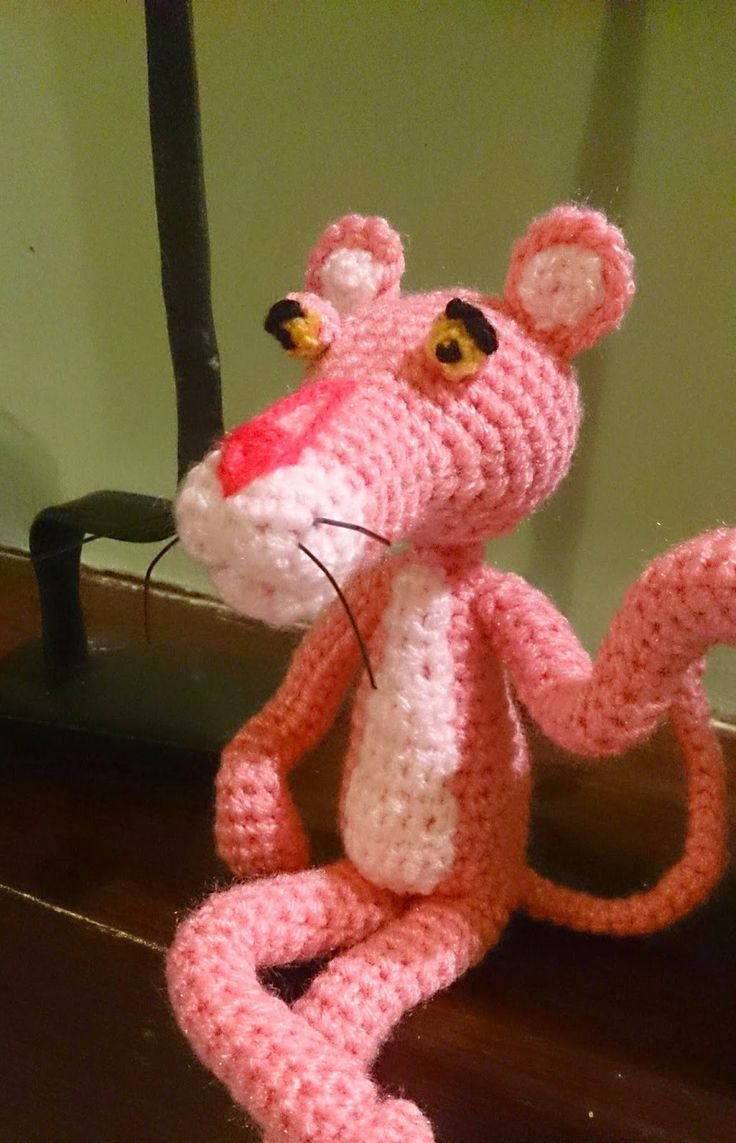 It tallerdemaó: Pink Panther (P). FREE PATTERN 11/14.