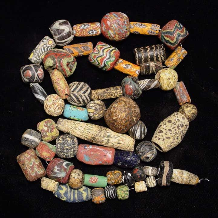 ancient beads of rome