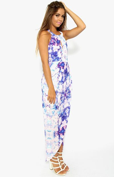 Galactic Dreams Maxi Dress - Print | Clothes | Peppermayo