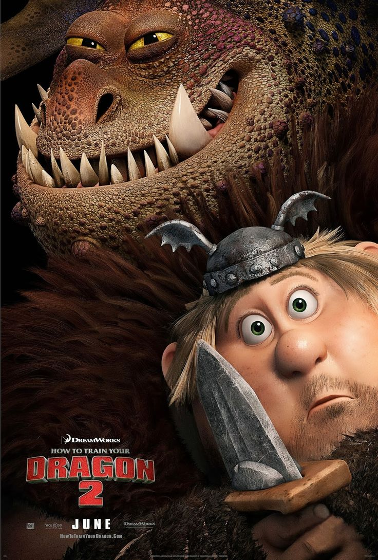 First Look: Exclusive 'how To Train Your Dragon 2′ Poster Featuring Off Aged