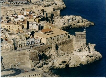 Melilla - a Spanish city in North Africa - ferries and planes go there from Almería Spain