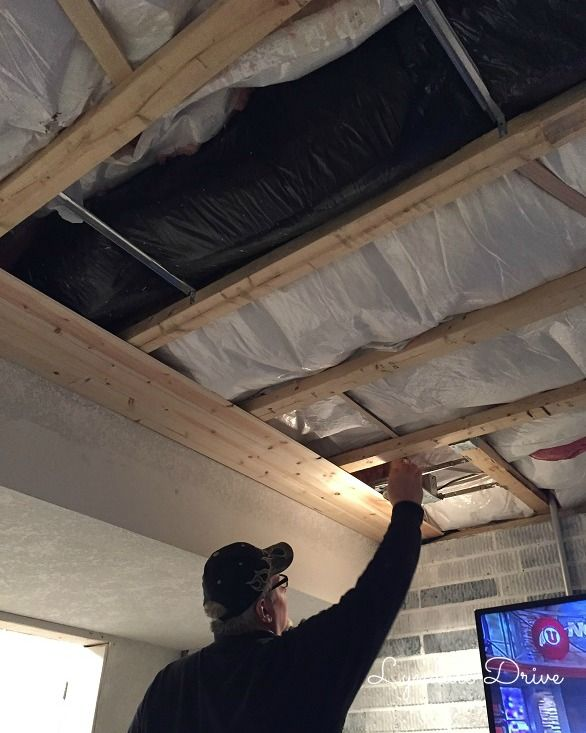 How To Add Shiplap To A Ceiling Basement Ceiling Insulation Finishing Basement Low Ceiling Basement
