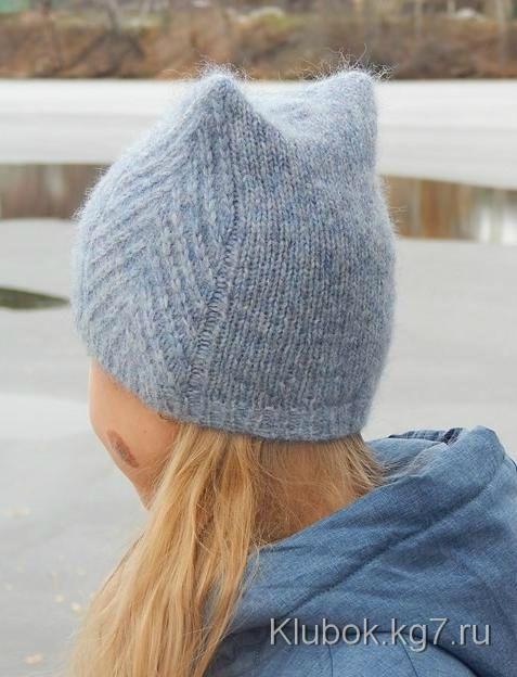 "Шапочка ""Meow Meow Hat""by Tanya Mulokas."