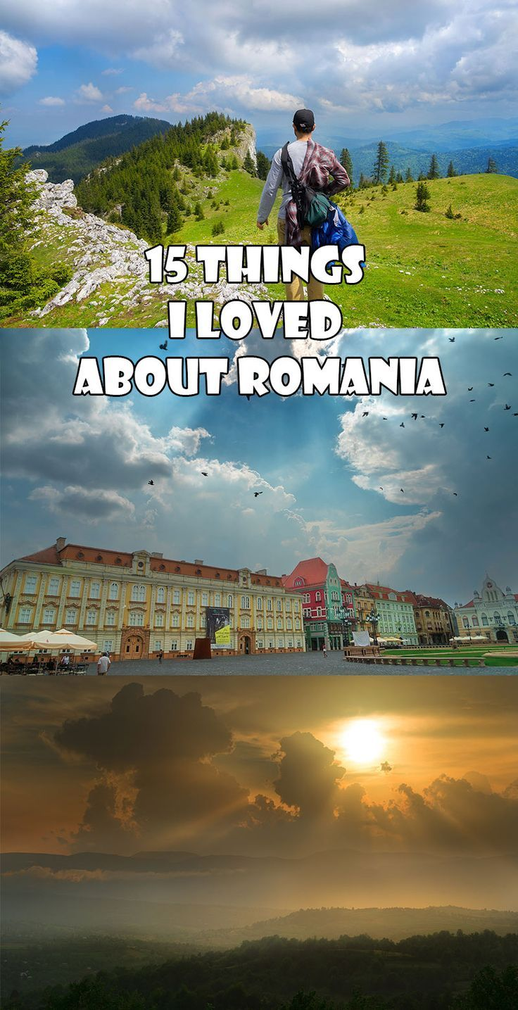 15 Things I Loved About Romania. I spent three months exploring Romania. It's cities and the countryside. Here are the things I loved about the Country. // Always Wanderlust