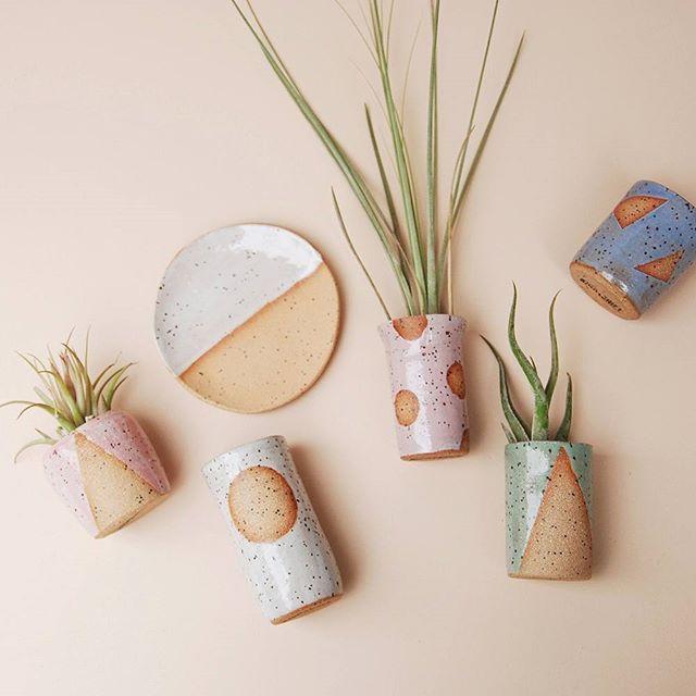 Small vessels 🌸  Nightshift Ceramics