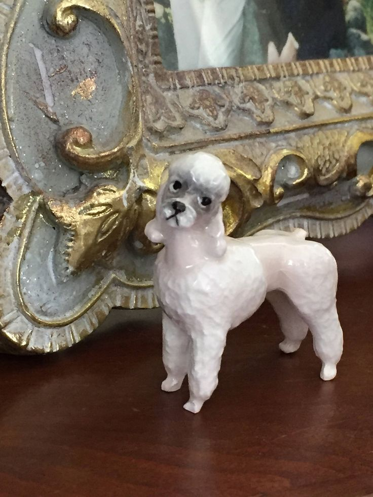 A personal favorite from my Etsy shop https://www.etsy.com/ca/listing/513860080/vintage-miniature-tiny-pink-poodle