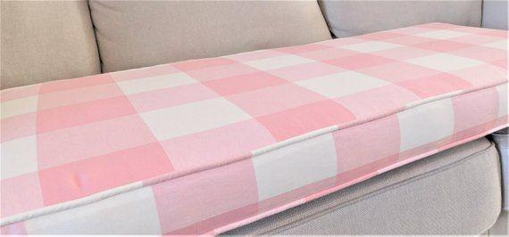 Custom Cushion Covers Piping Box Cushions Foam Insert Bench Seat
