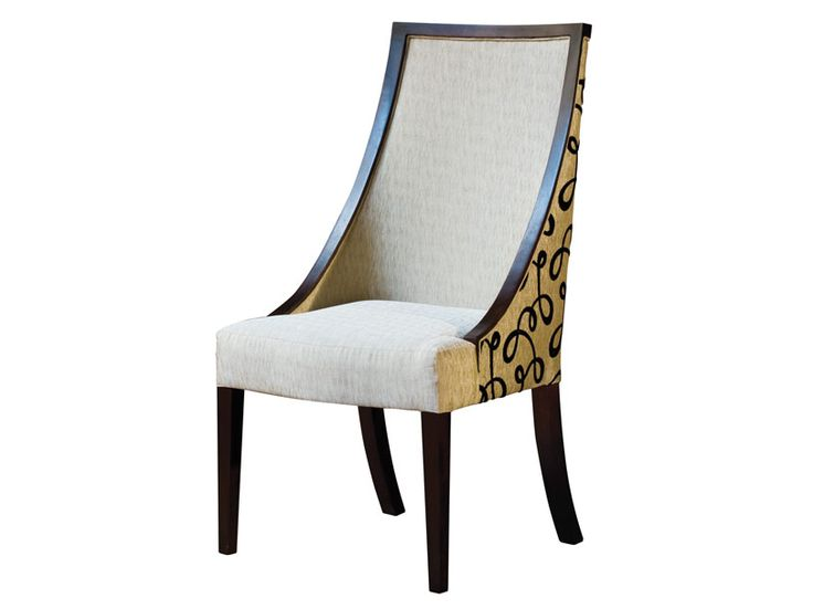 ADRIANA HOYOS Caramelo Collection Side Chair Dining In Dark Seike DiningRoom