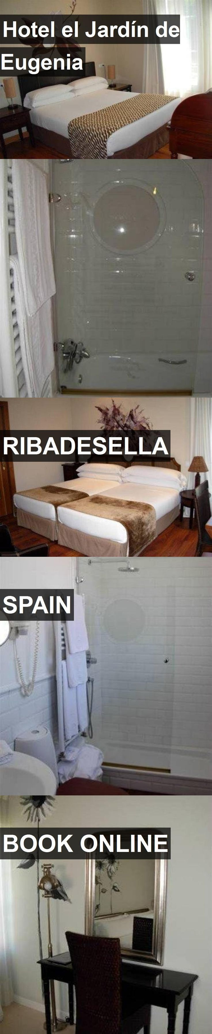 Hotel Hotel el Jardín de Eugenia in Ribadesella, Spain. For more information, photos, reviews and best prices please follow the link. #Spain #Ribadesella #HotelelJardíndeEugenia #hotel #travel #vacation