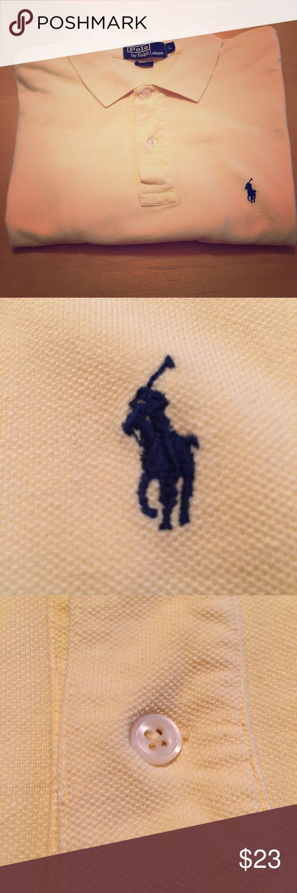 Men's Polo Ralph Lauren Polo Shirt Large Large, Men's Polo by Ralph Lauren. YELLOW. Polo by Ralph Lauren Shirts Polos
