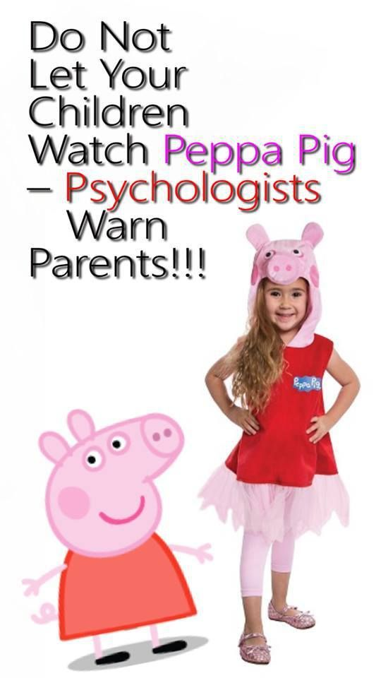 Do Not Let Your Children Watch Peppa Pig – Psychologists Warn Parents