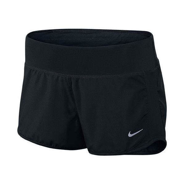Women's Nike Crew 3 Inch Running Shorts ($40) ❤ liked on Polyvore featuring activewear, activewear shorts, shorts, bottoms, nike, clothes and shoes, pants, nike activewear, nike sportswear and athletic sportswear