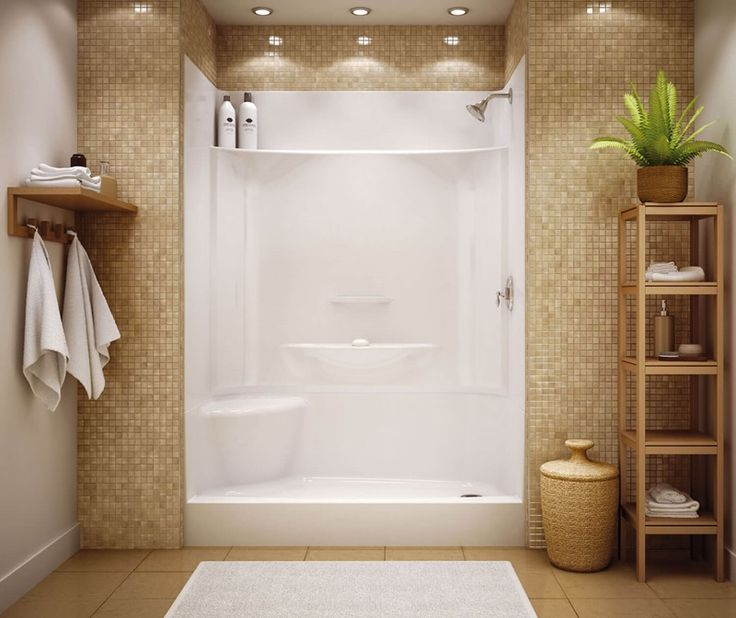 KDS 3060 AFR alcove shower   Acrylic shower walls, Shower ...