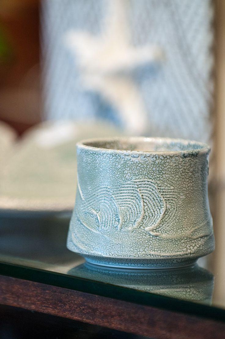 Kauai artist Kathleen Bryan's tea bowl.