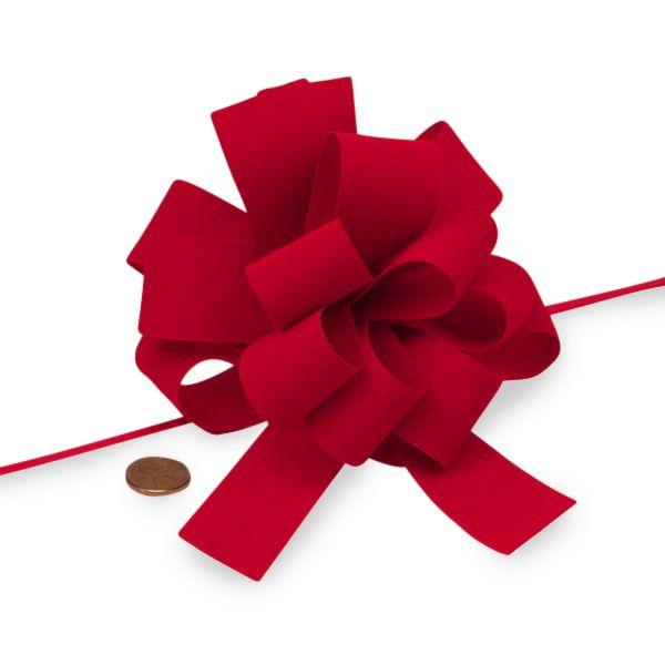 Flocked Velvet Pull Bow | Shop Ribbons.com Today