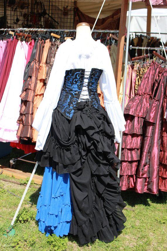 Saloon girl skirt