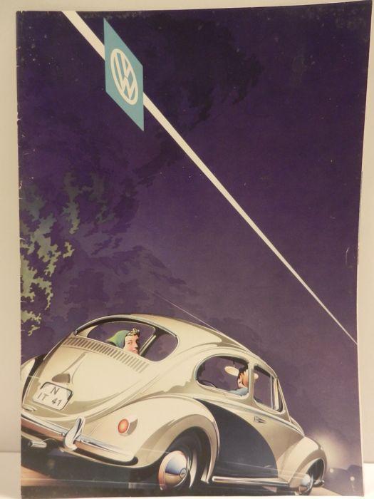 VOLKSWAGEN KEVER - 11 brochures - 1958-1973  KEVER BROCHURES. Alleen in uitstekende staat.1 Augustus 1958 met tekeningen. A4 formaat. 12 bladzijden.2 1961/1962 Kleurenkaart. Klein formaat uitvouwblad. 3 Maart 1957. Volkswagen kaart van Europa. Uitvouwkaart.4 Augustus 1965. Klein formaat uitvouwblad.5 Augustus 1963. A4 formaat. 20 bladzijden. 6 Ongedateerd. A4 formaat. 20 bladzijden7 Augustus 1966. A4 formaat. 48 bladzijden.8 Februari 1973. A4 formaat. 30 bladzijden.9 Augustus 1964. A4…