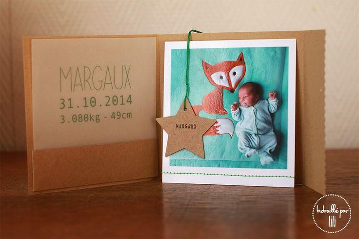 les 25 meilleures images du tableau faire part naissance sur pinterest carte naissance cartes. Black Bedroom Furniture Sets. Home Design Ideas