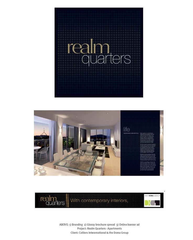 Realm Quarters and Apartments - Design & Branding
