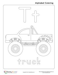 cardinal coloring pages preschool truck - photo#11