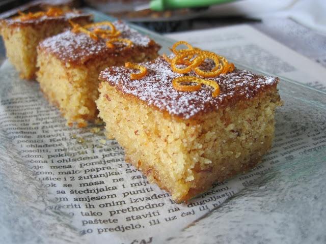 vrtaljica: Marokanski kolač od badema i naranče i gost kuhar: Kolač Od, Gost Kuhar, Od Badema, Baking, Cakes Kolaci, Beautiful Food, Marokanski Kolač, I'M, Nice Food
