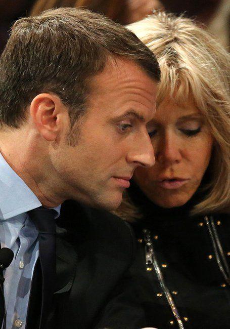 Le couple Trogneux-Macron