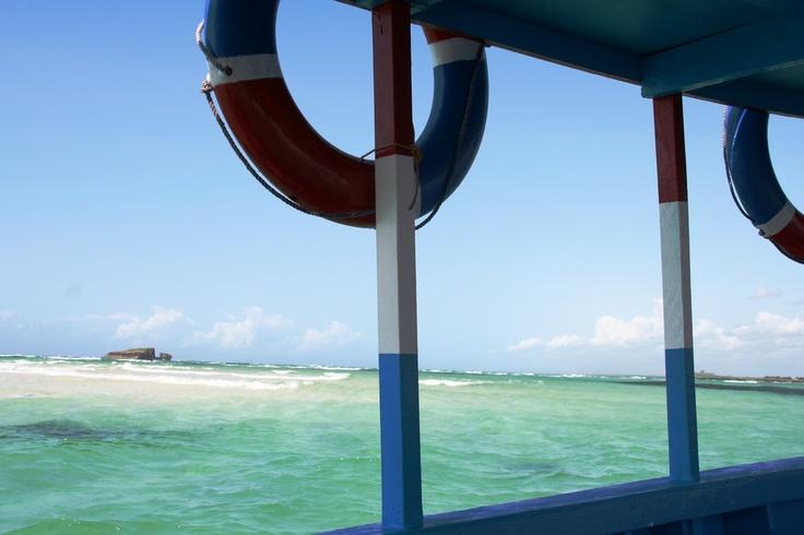 Verso la barriera corallina