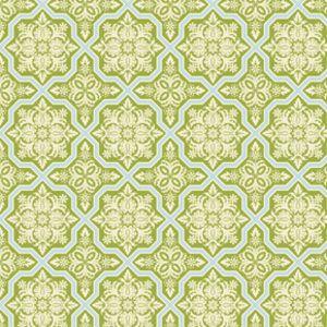 Joel Dewberry - Heirloom - Tile Flourish in Green