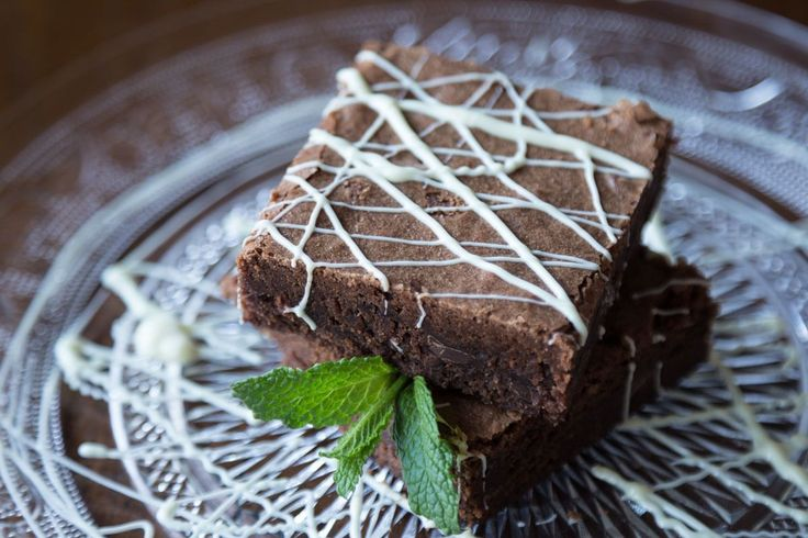 Classic chocolate brownies by greek chef Akis. A brownie in its purest form: chewy fudgy and homemade!