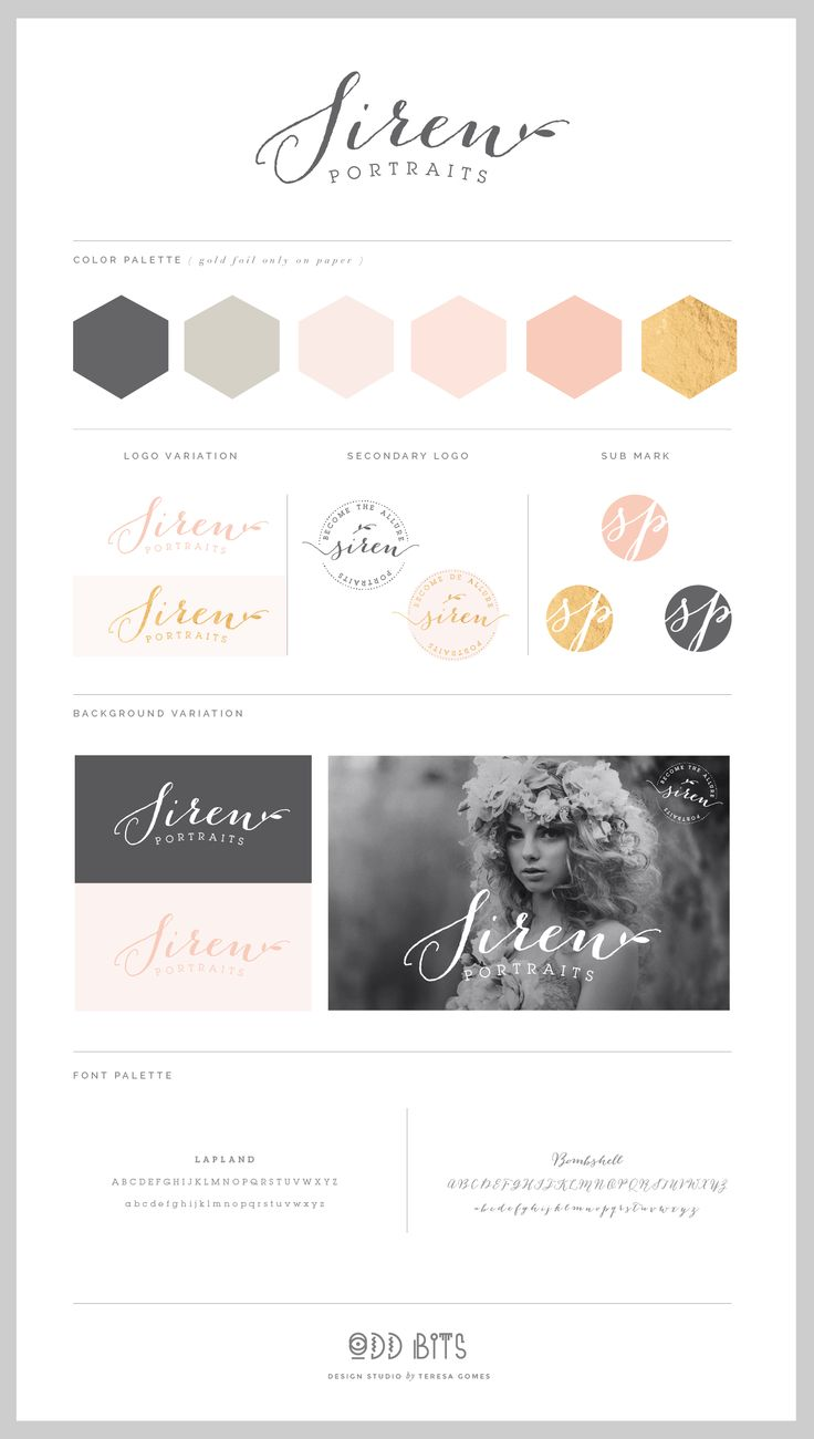 Siren - Logo Concept Board…