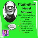 Frankenstein Novel Stations