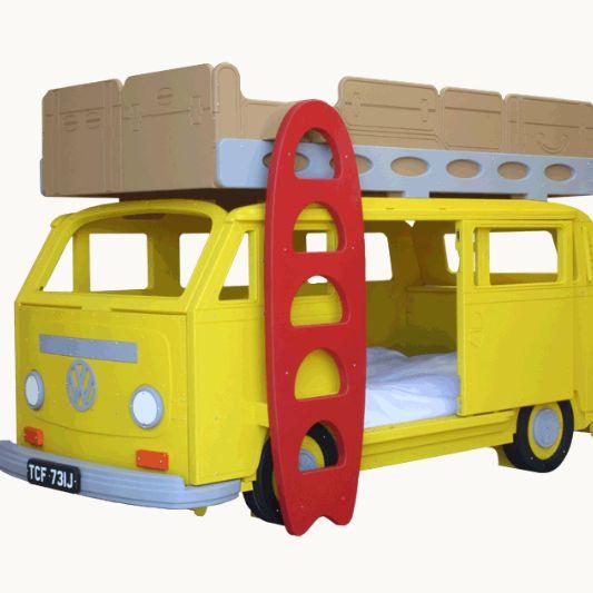 VW Camper Van Bunk Beds. Coolest thing I've ever seen!!!!!!!