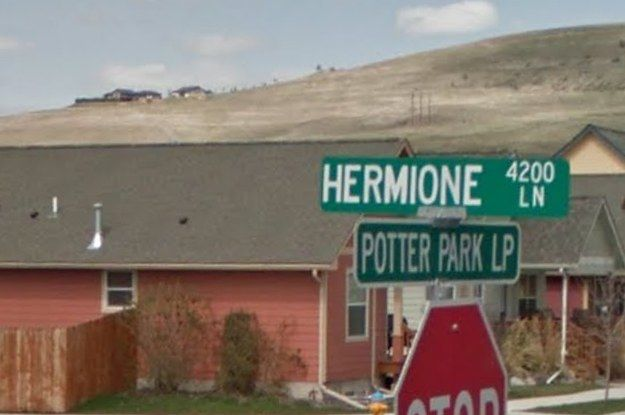 There's A City In Montana With A Neighborhood Full Of Harry Potter-Themed Street Names. Goodbye mom, I'm moving!