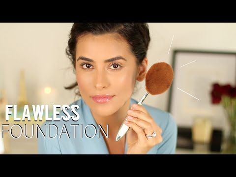 Artis Brush Review   Flawless Foundation Tutorial - YouTube
