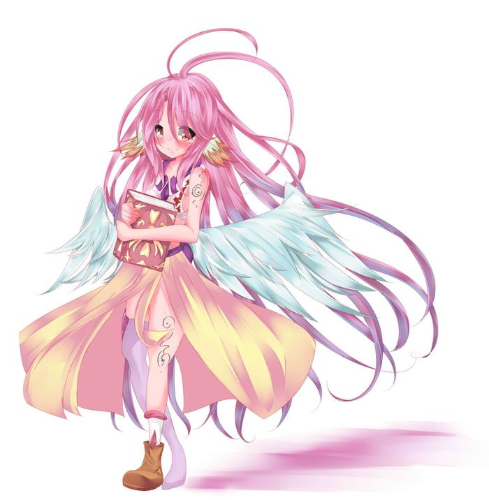 Just A Little Jibril Looking For Knowledge No Game No Life