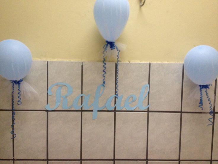 Balões decorados