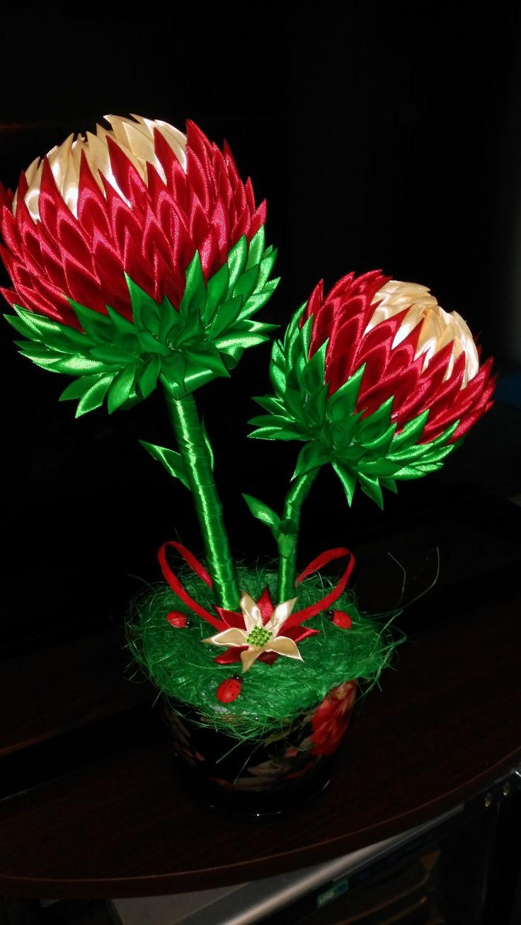 Moje dłubankowe kwiaty