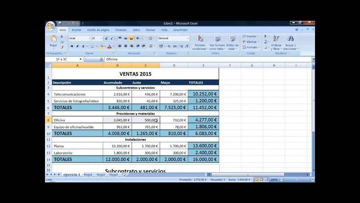 Lección 3: gráficos en Excel | Excel videotutoriales