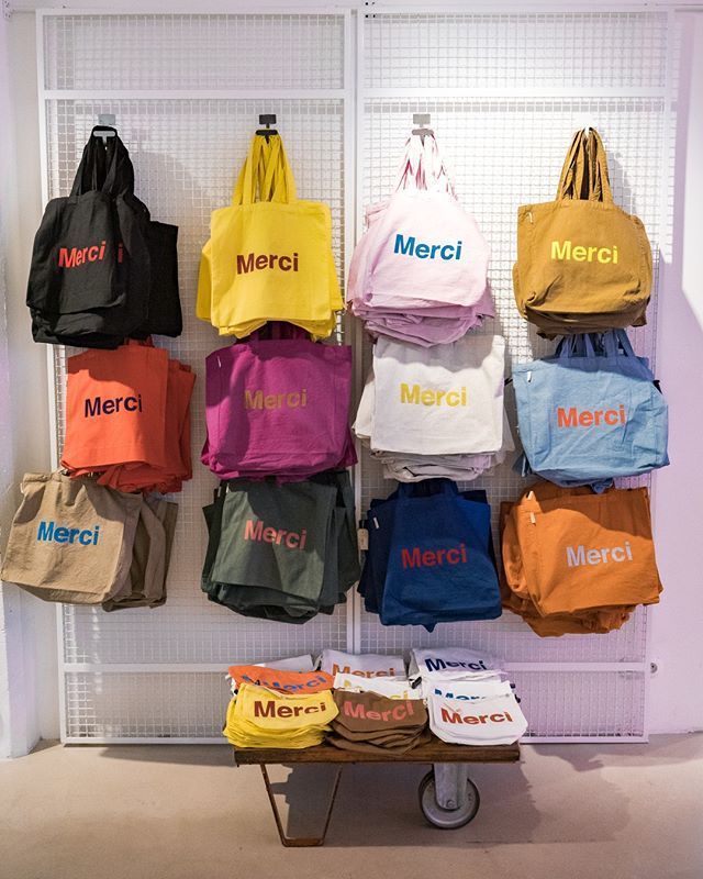 Merci Totebags Colorama Have A Nice
